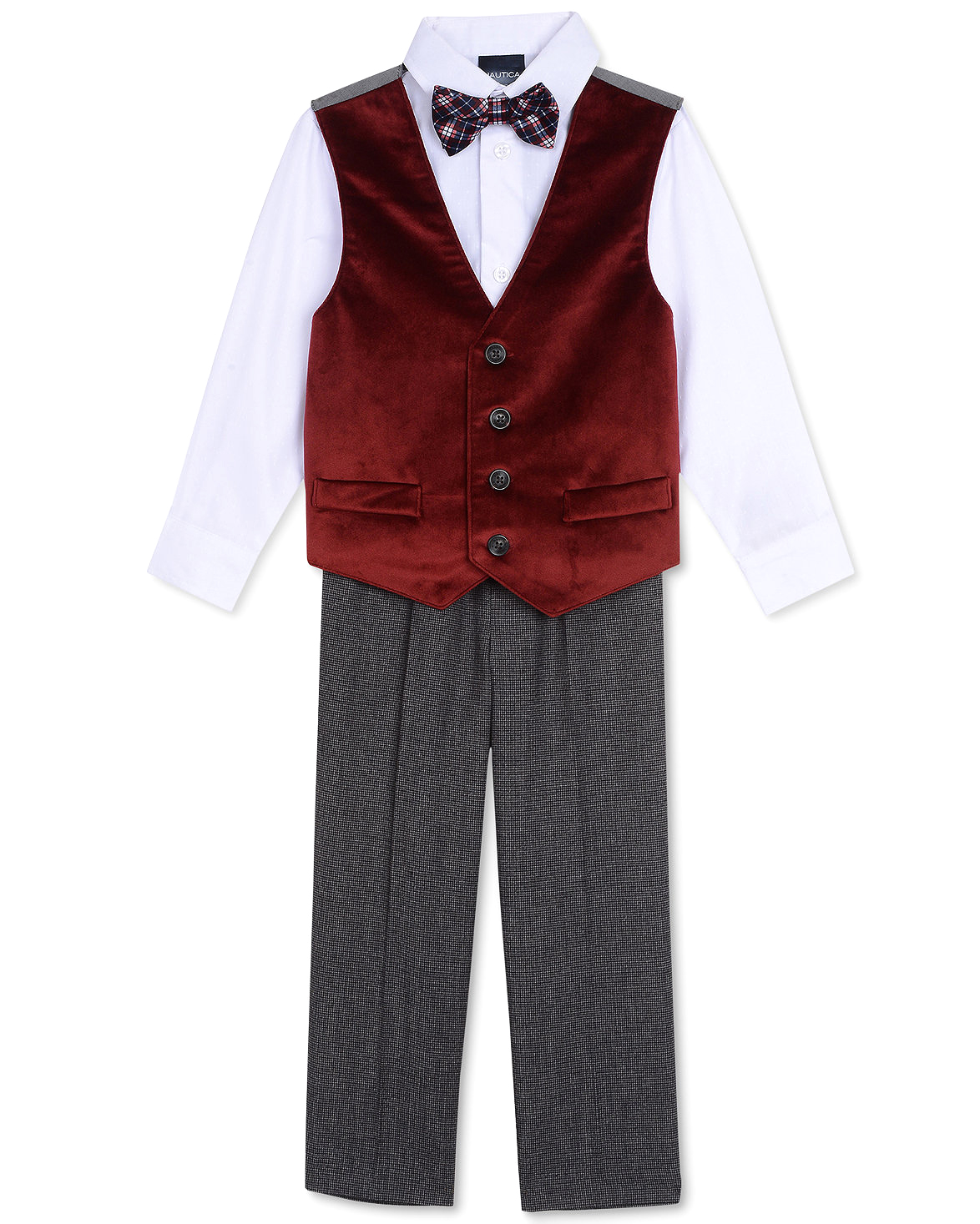 ring bearer outfit red vest