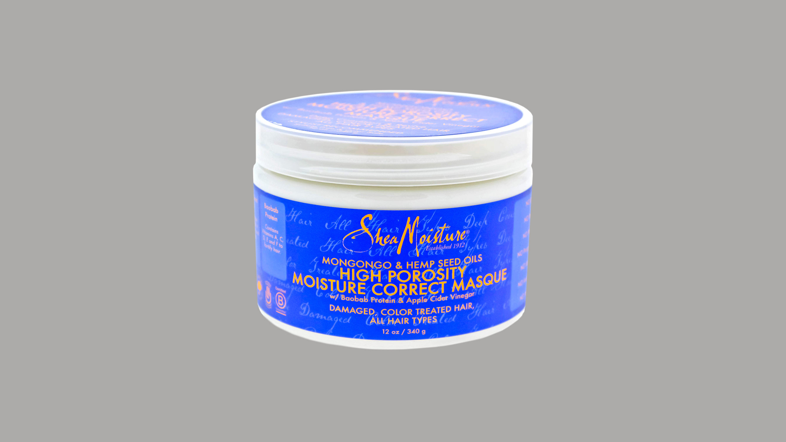 Shea Moisture High Porosity Moisture Correct Masque