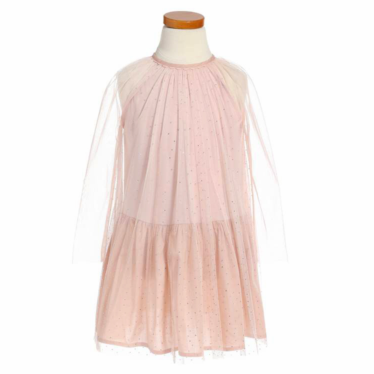 long sleeve flower girl dresses stella mccartney