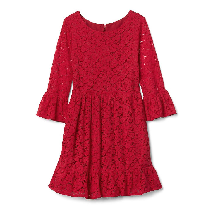 long sleeve flower girl dresses gap