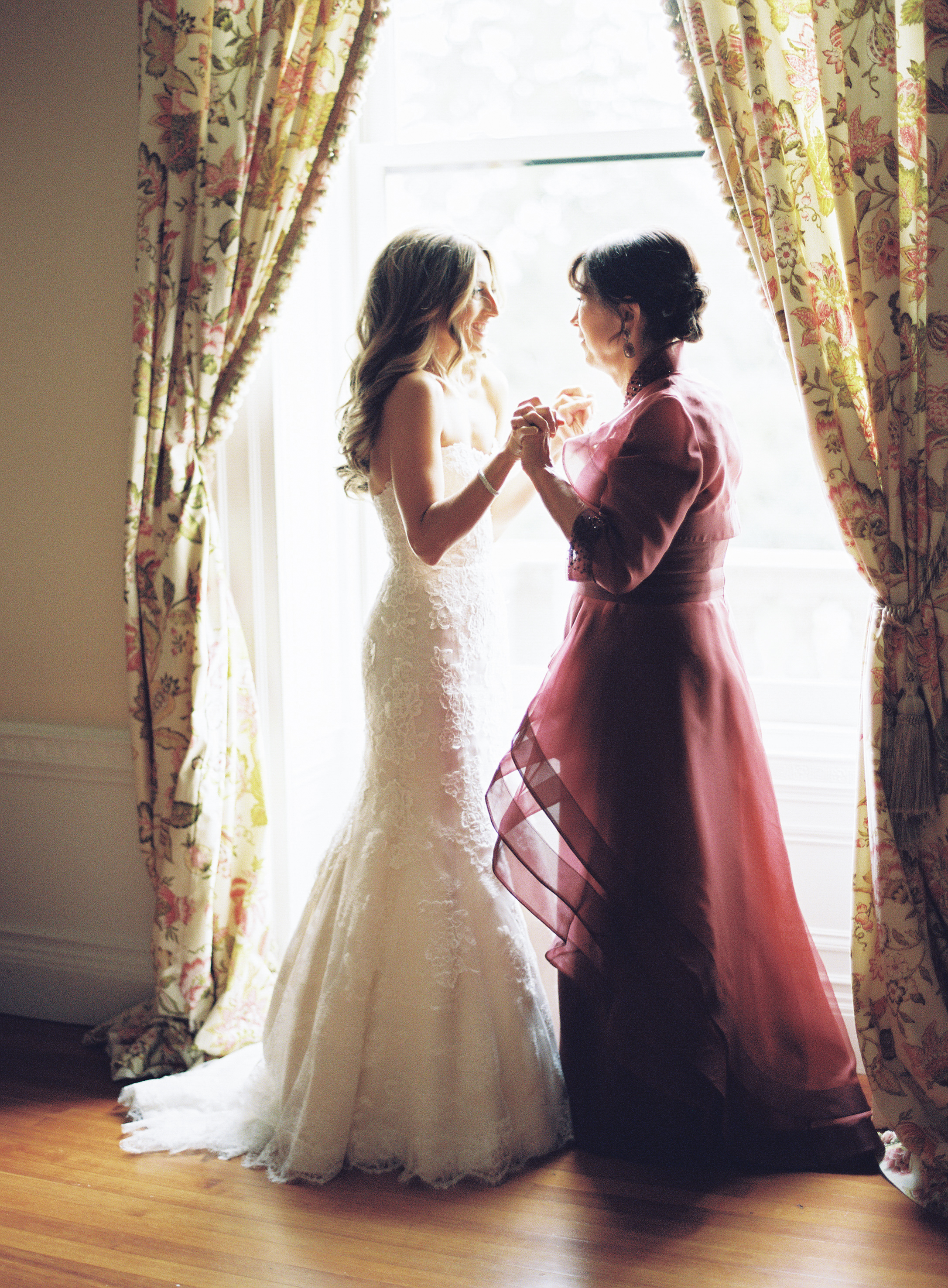 24 Burgundy Mother-of-the-Bride Dresses