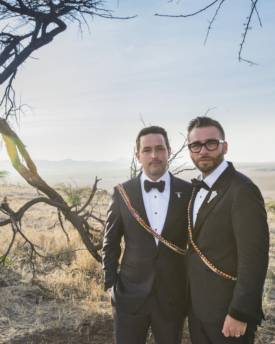 grant lance wedding africa grooms