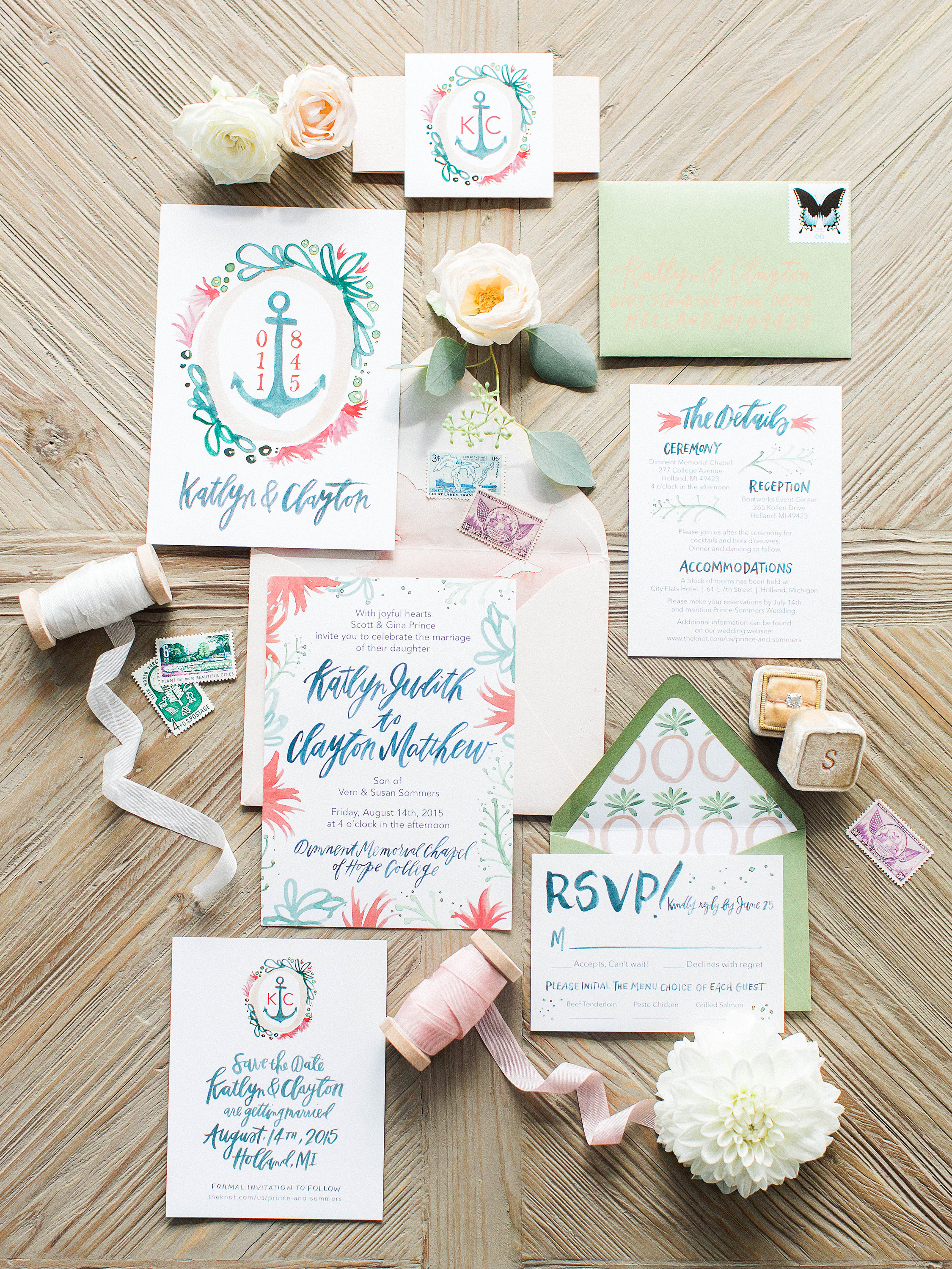 The Etiquette of Wedding Invitation Enclosures