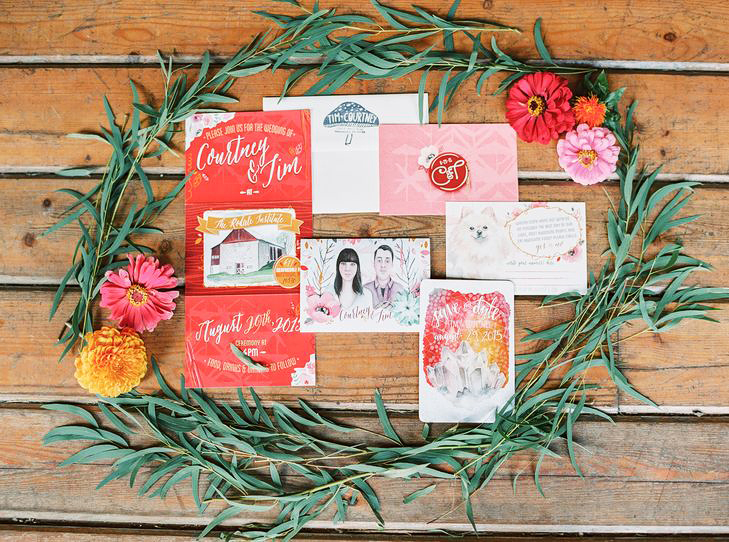illustrated crests monograms lauren fair photography