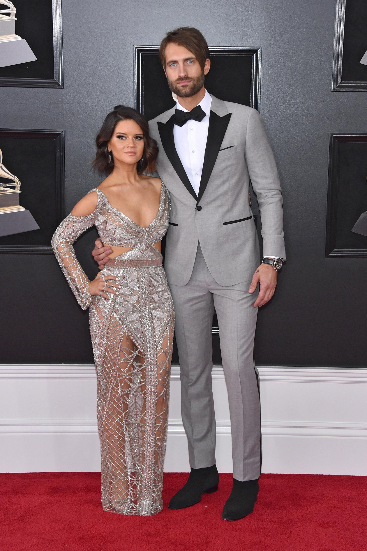Maren Morris and Ryan Hurd 2018 Grammy Awards