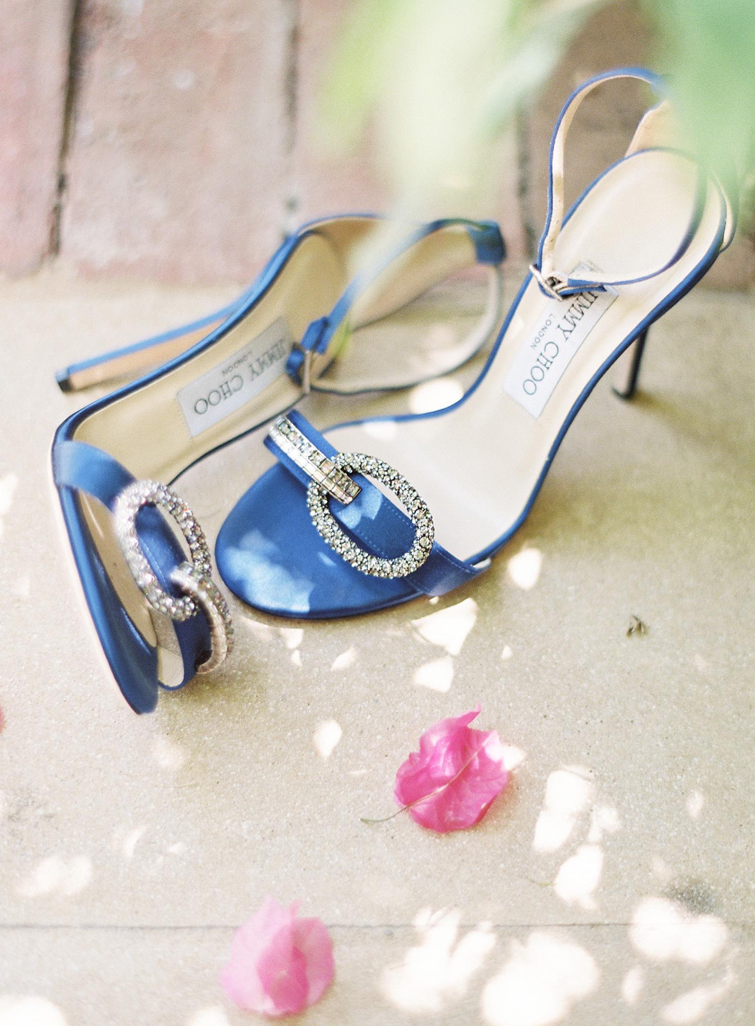 cat denis wedding blue bridal shoes