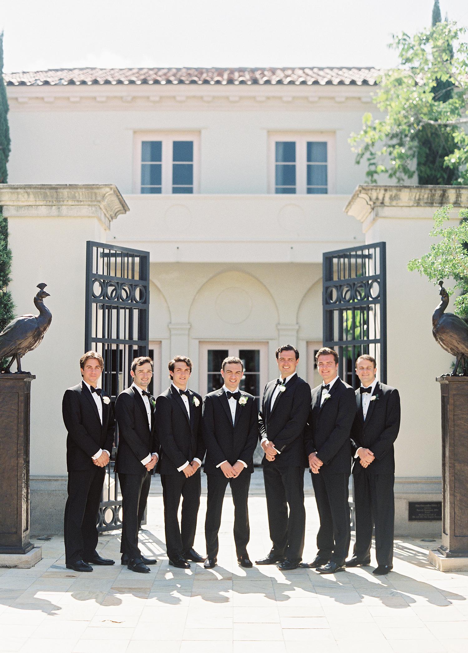 cat denis wedding groomsmen portrait