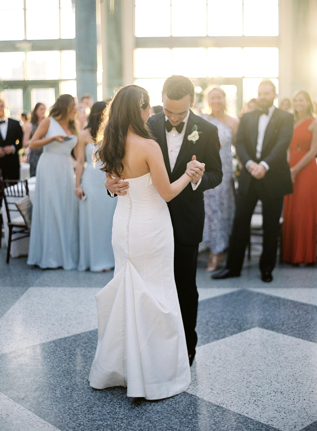 cat denis wedding first dance