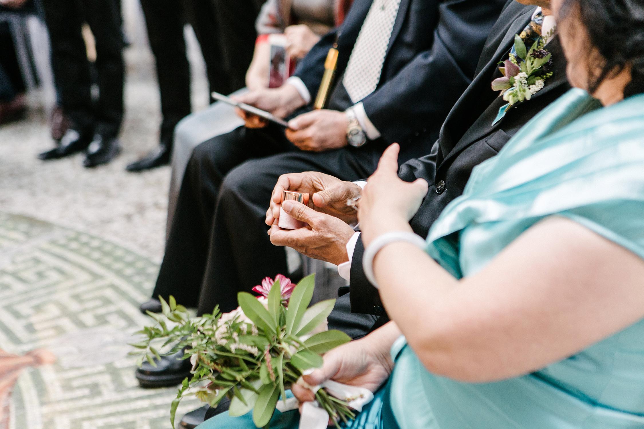 stephanie tim wedding ring warming ceremony