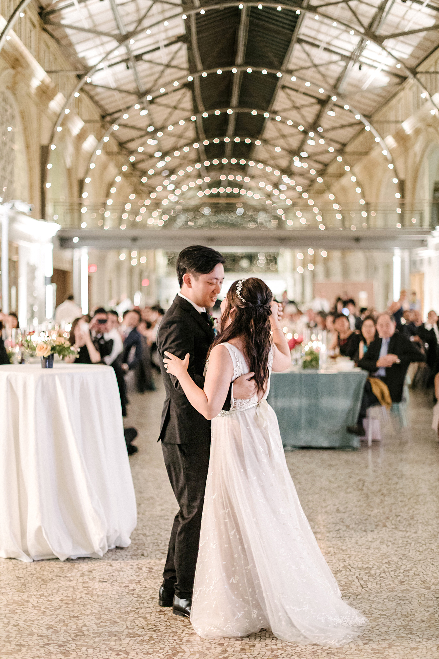 stephanie tim wedding first dance