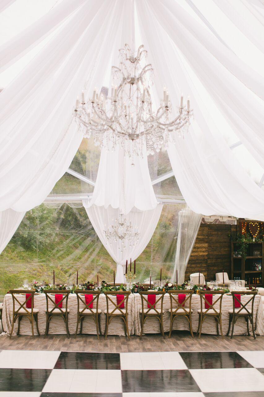 dance floor chandelier