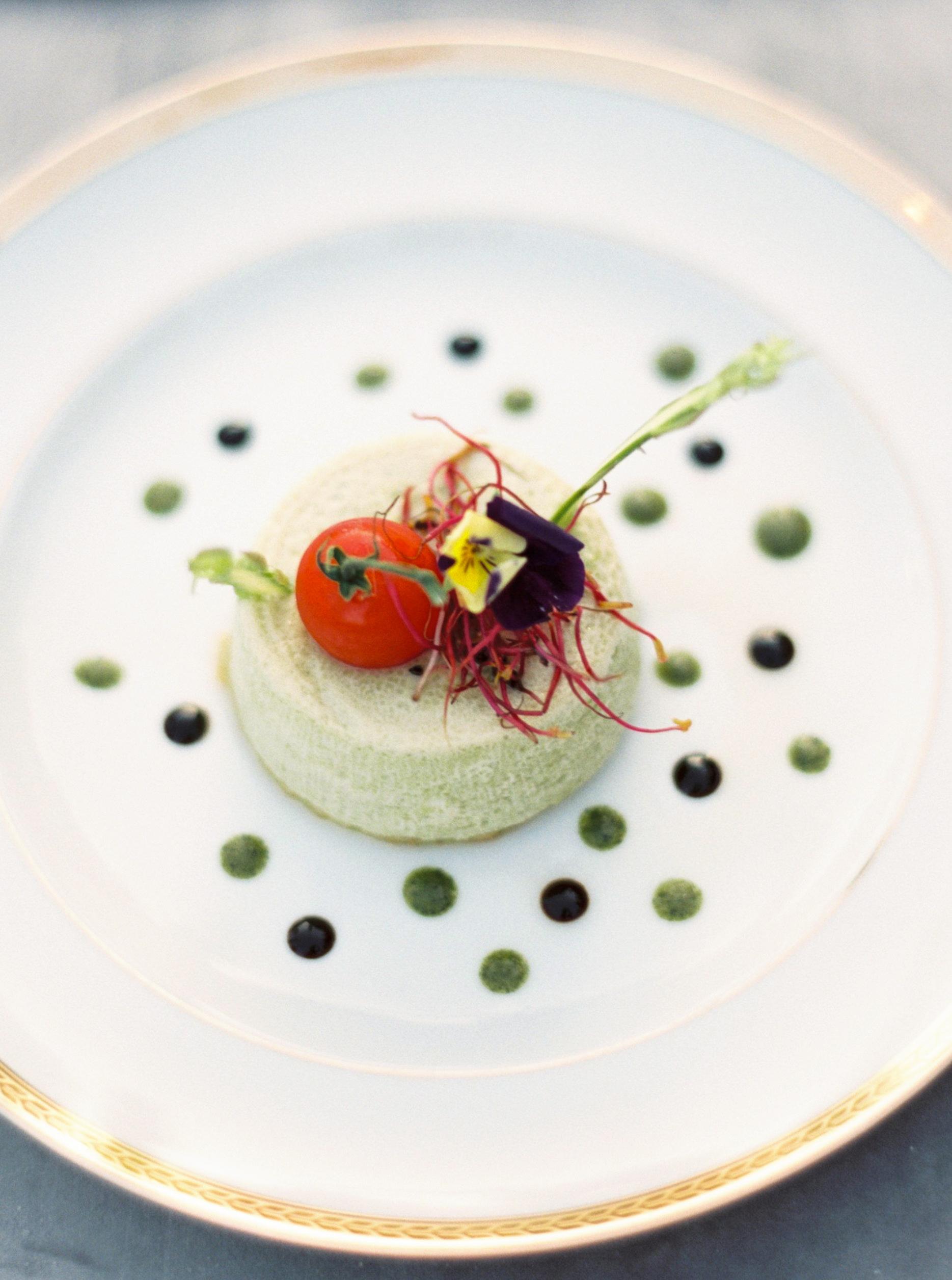 rachael cameron wedding food