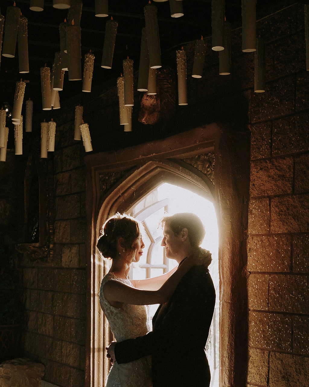 A Moody, Magical  Harry Potter -Themed Wedding