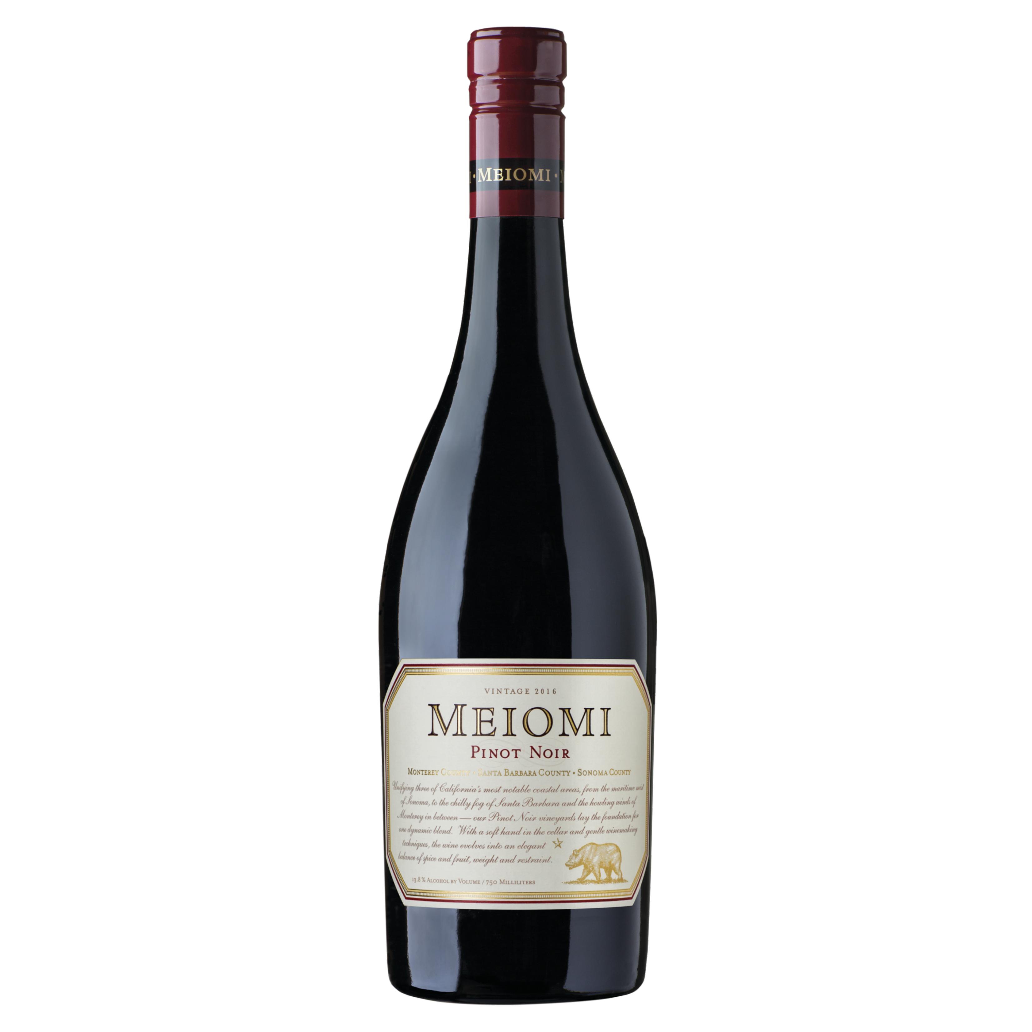 meiomi pinot noir red wine