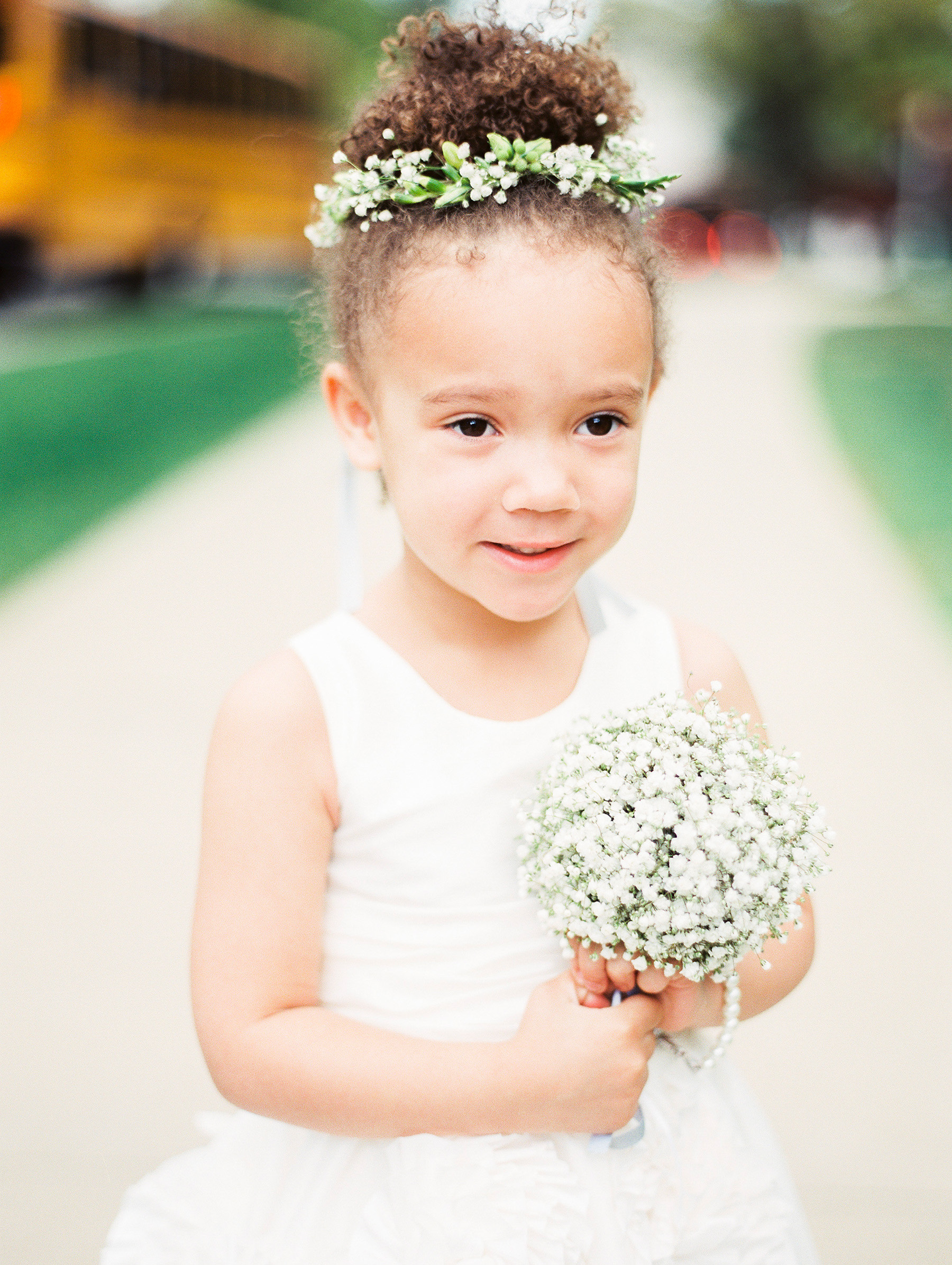 Hair Accessories Your Flower Girl Will Love