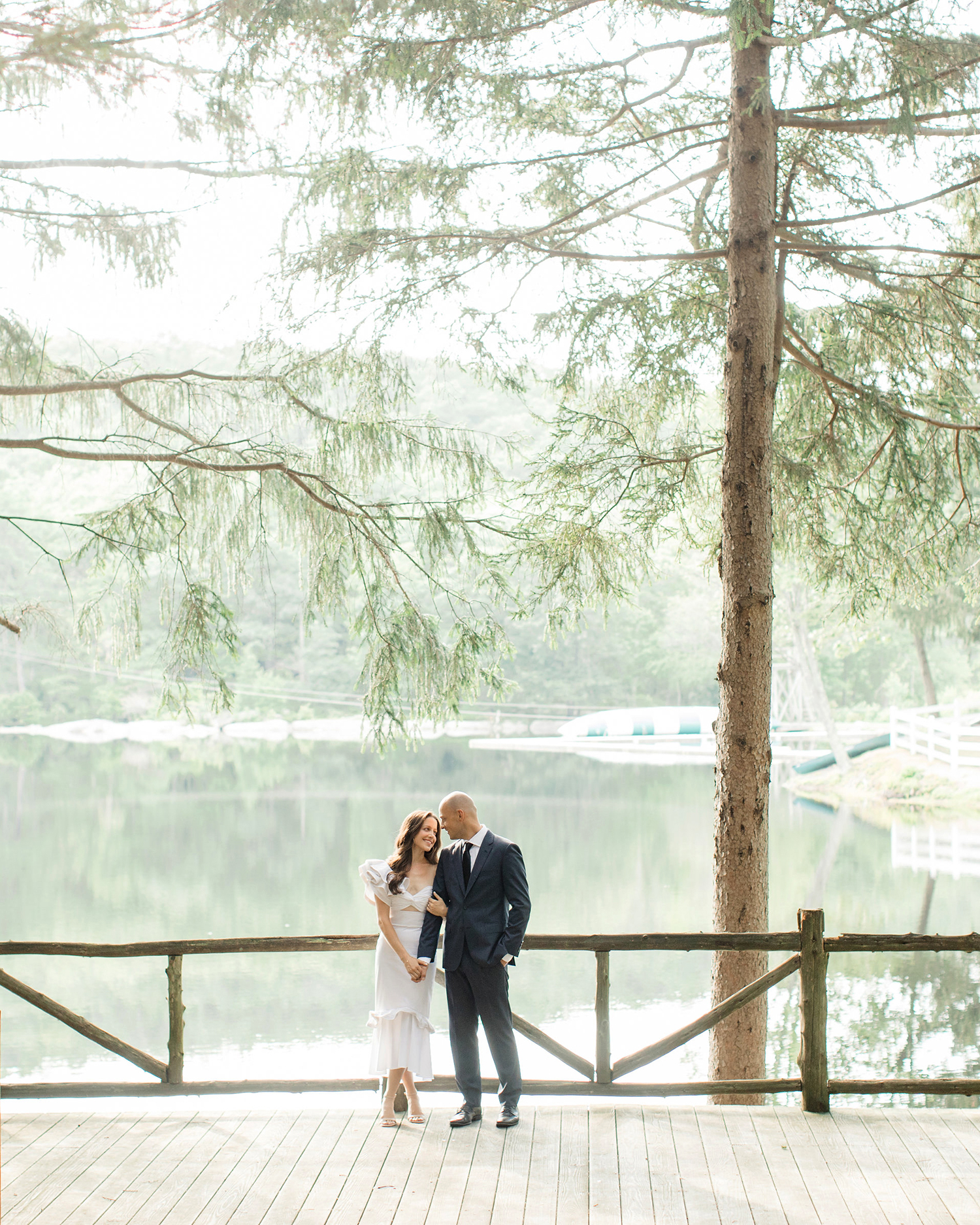 camryn eugene couple near water
