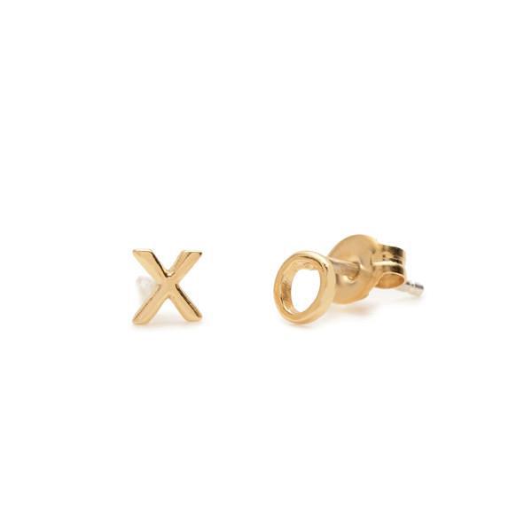 x o earrings