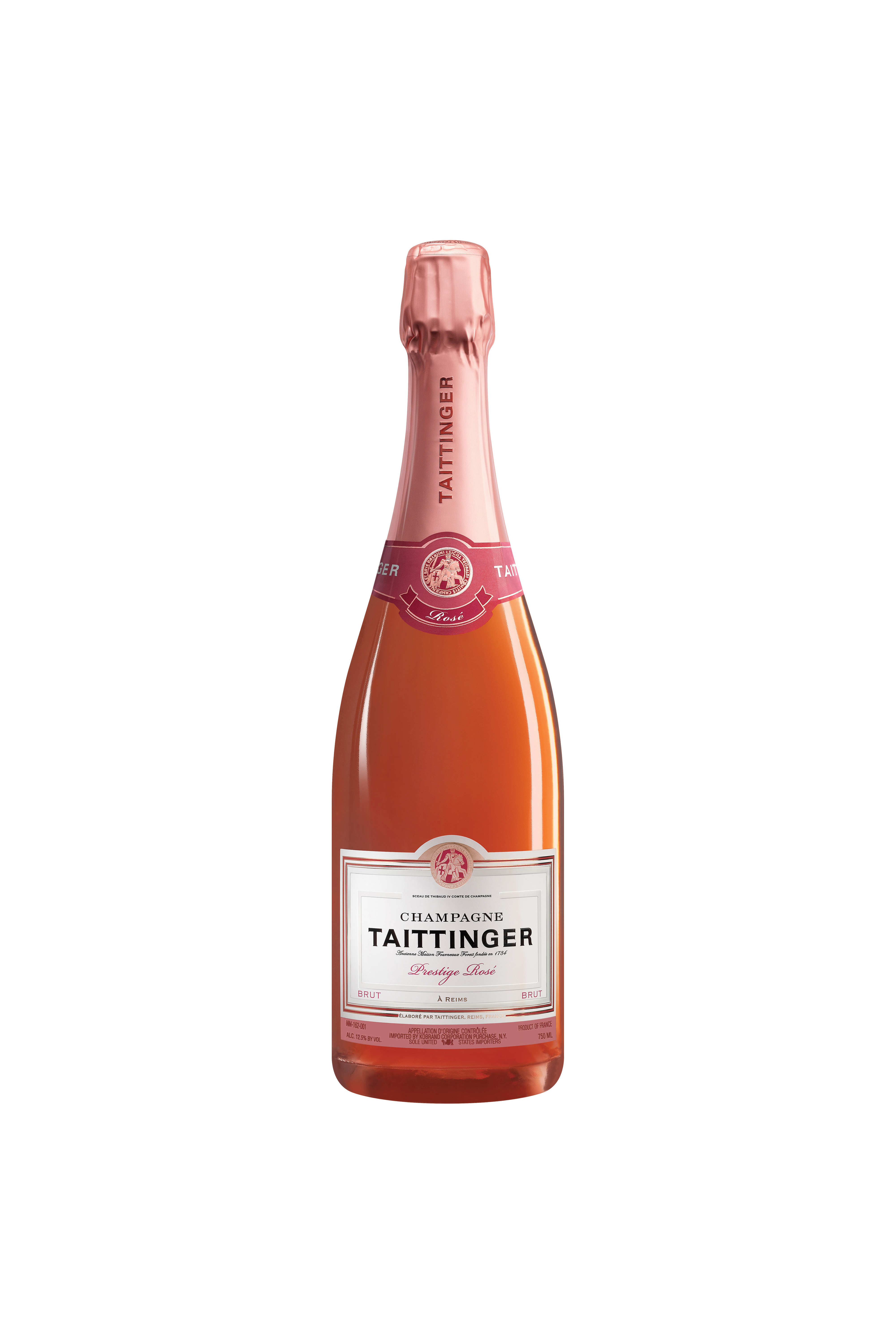 Taittinger Champagne Split Bottle Wedding Welcome Bag