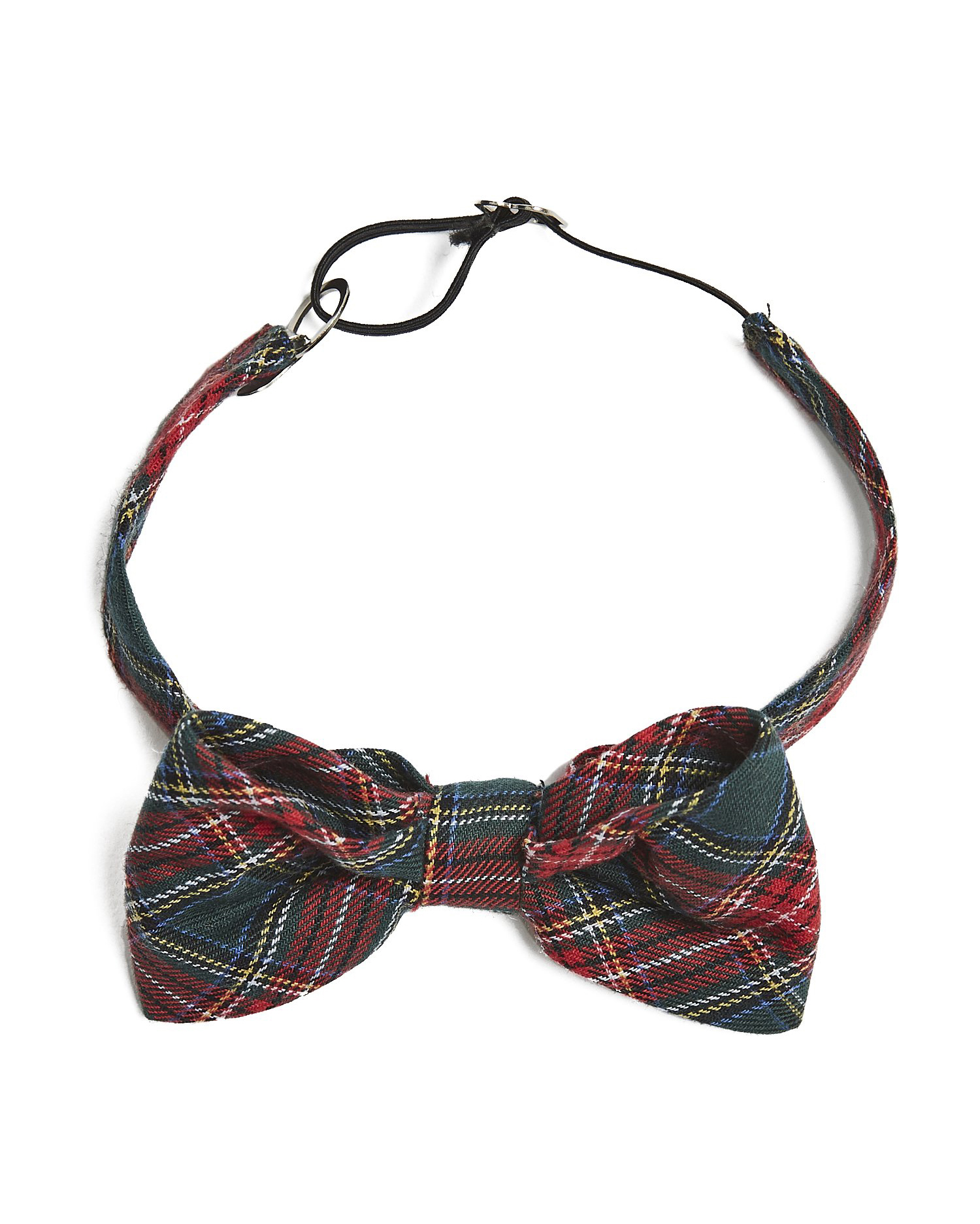 ring bearer red green autumn bow tie