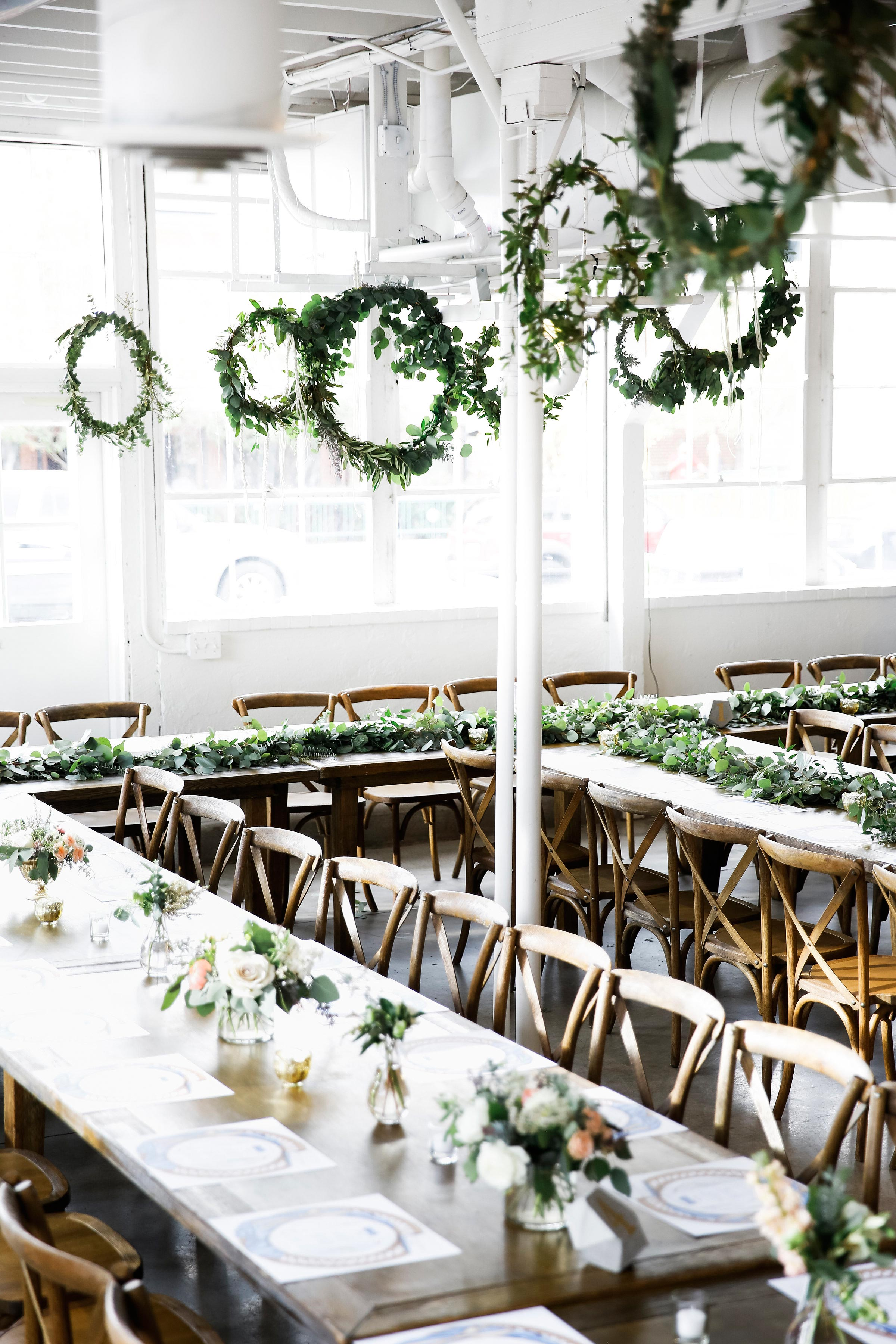 wedding reception space
