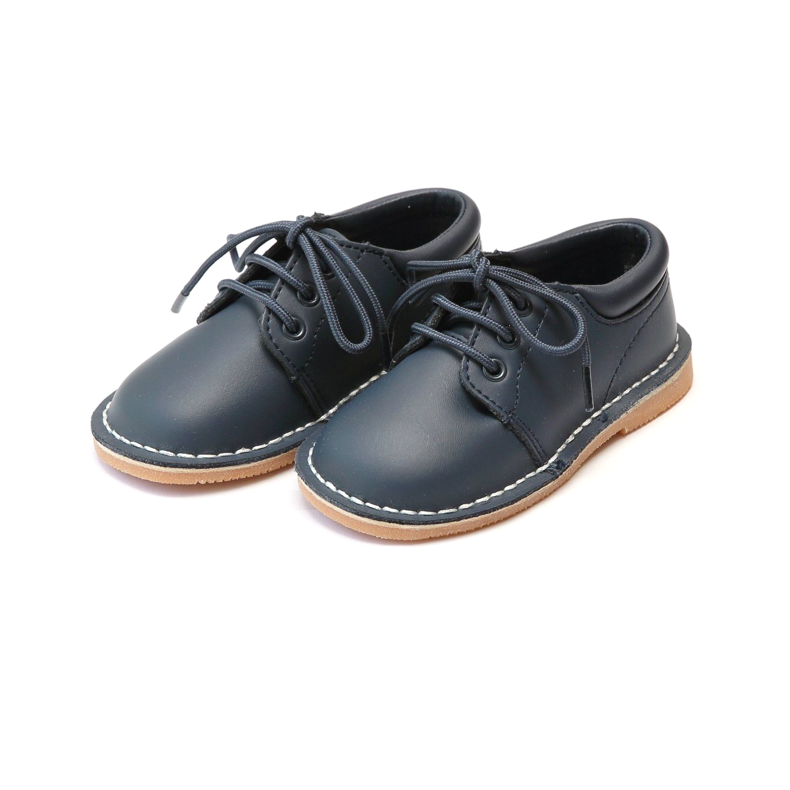 ring bearer shoes stitch down leather lace up shoes