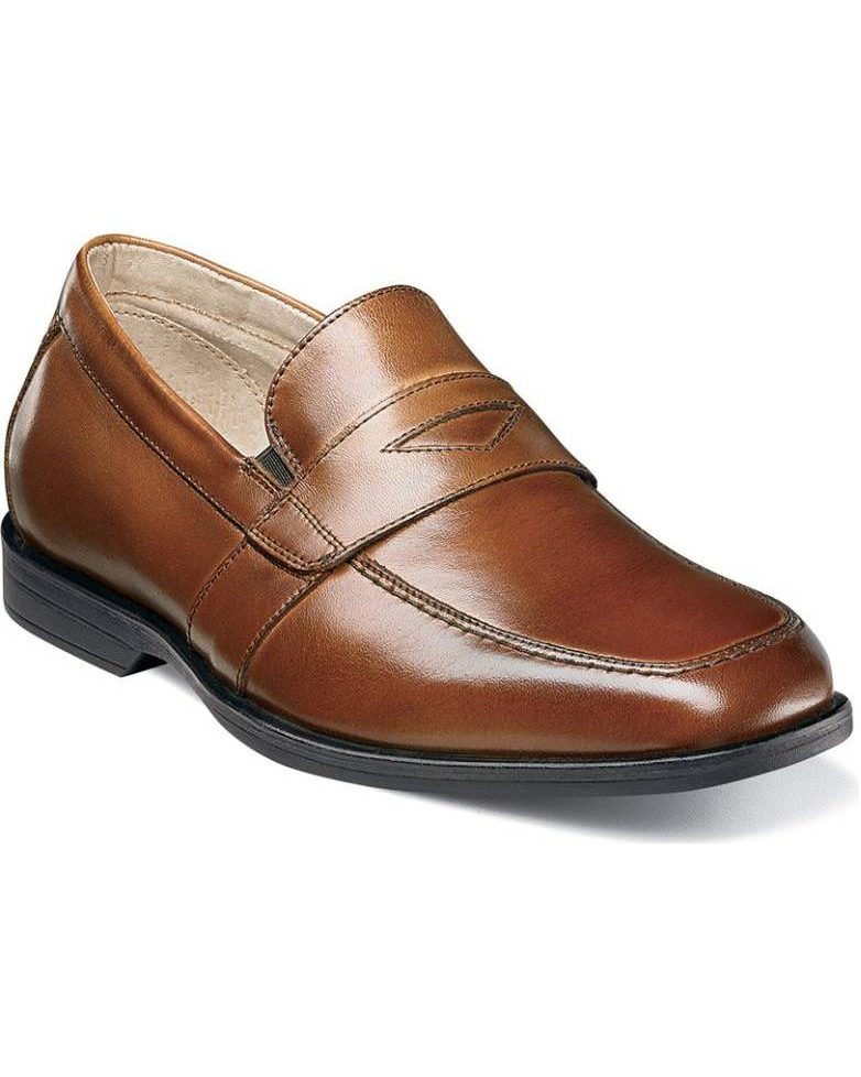 brown ring bearer shoes