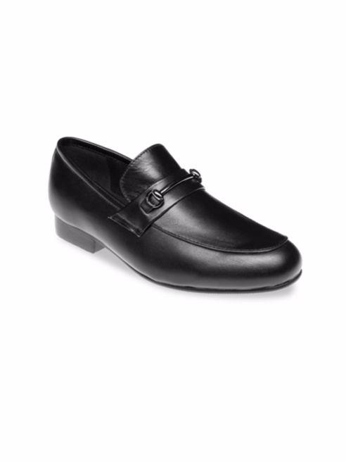 black ring bearer shoe
