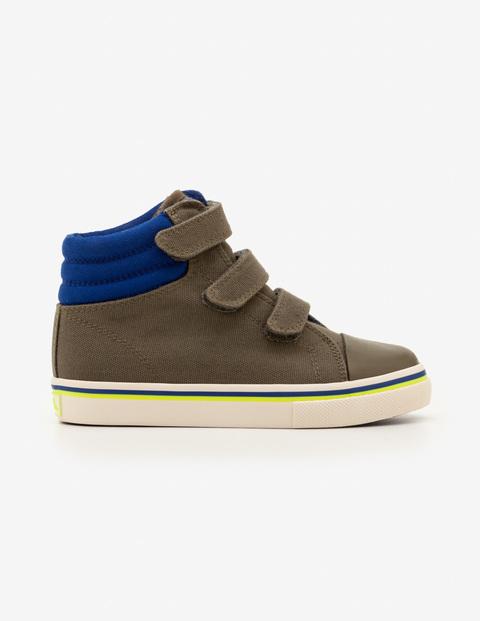 Boden high top ring bearer shoe