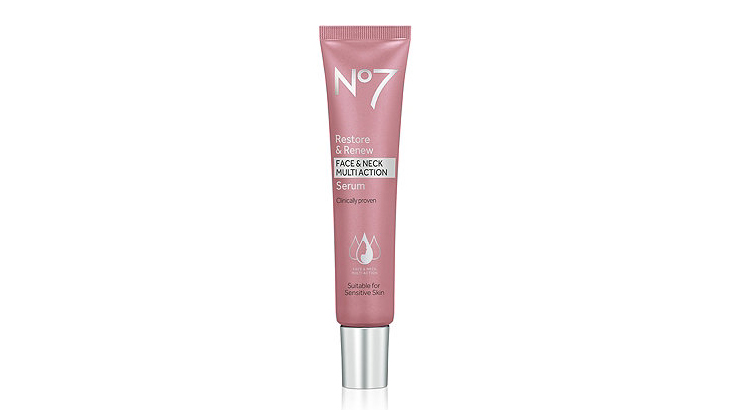 "No7 ""Restore and Renew"" Serum"