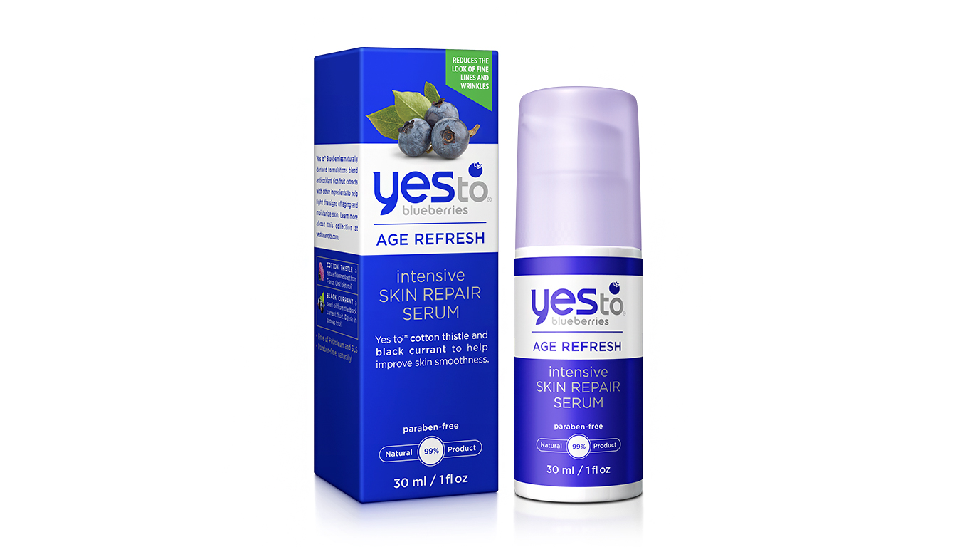 "Yes to Blueberries ""Age Refresh"" Repair Serum"