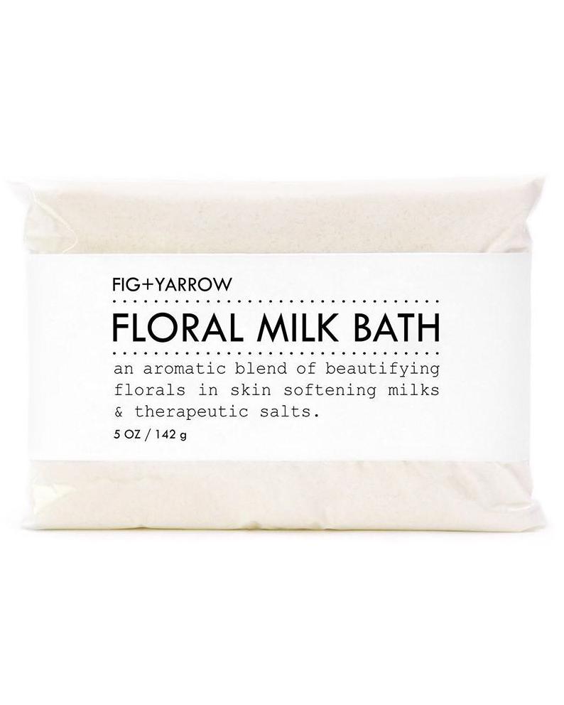 floral fig and yarrow bath soak