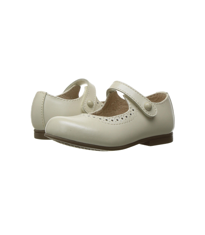 flower girl shoes footmates button strap