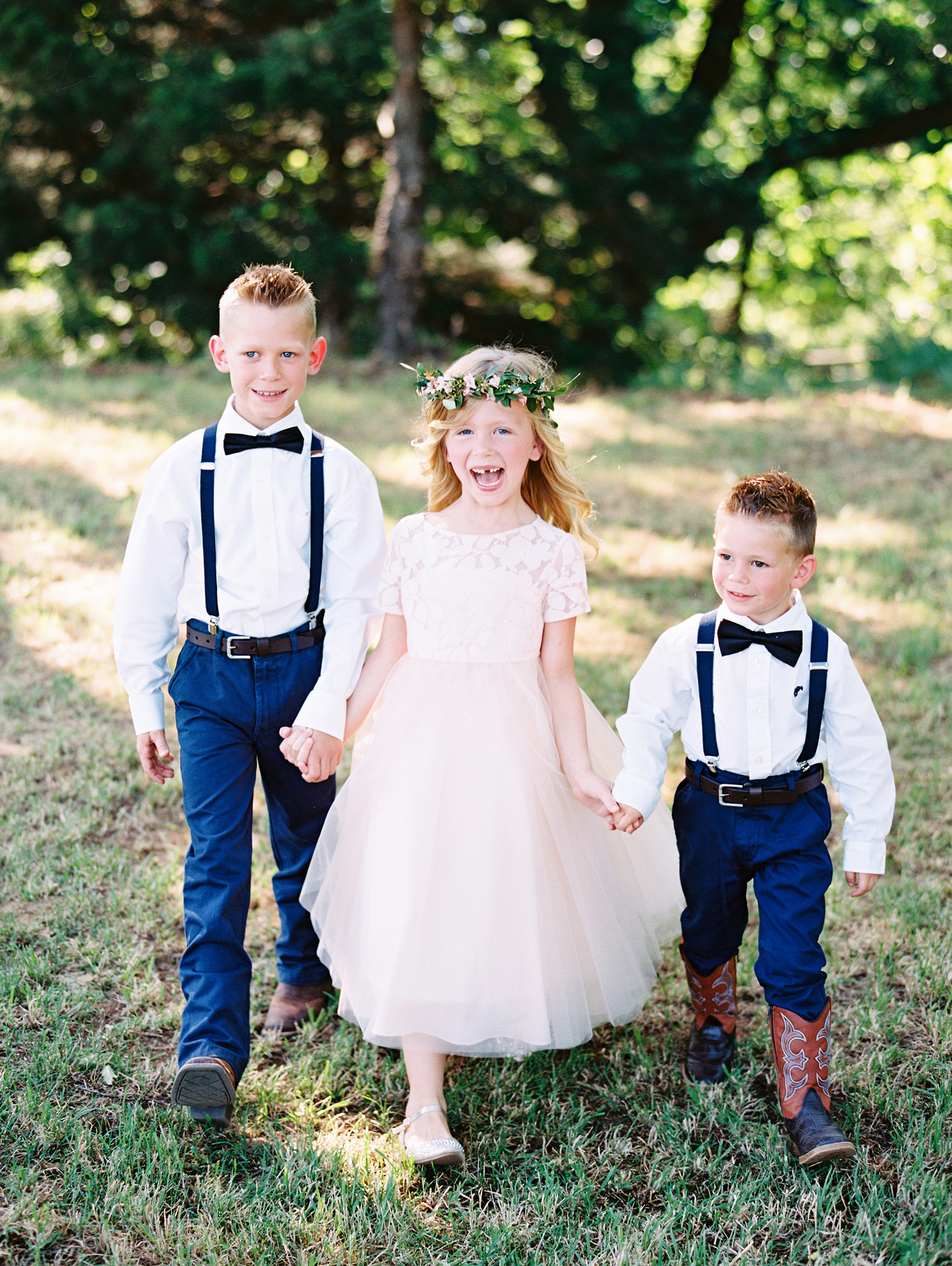 The Prettiest Pink Dresses for Your Flower Girls