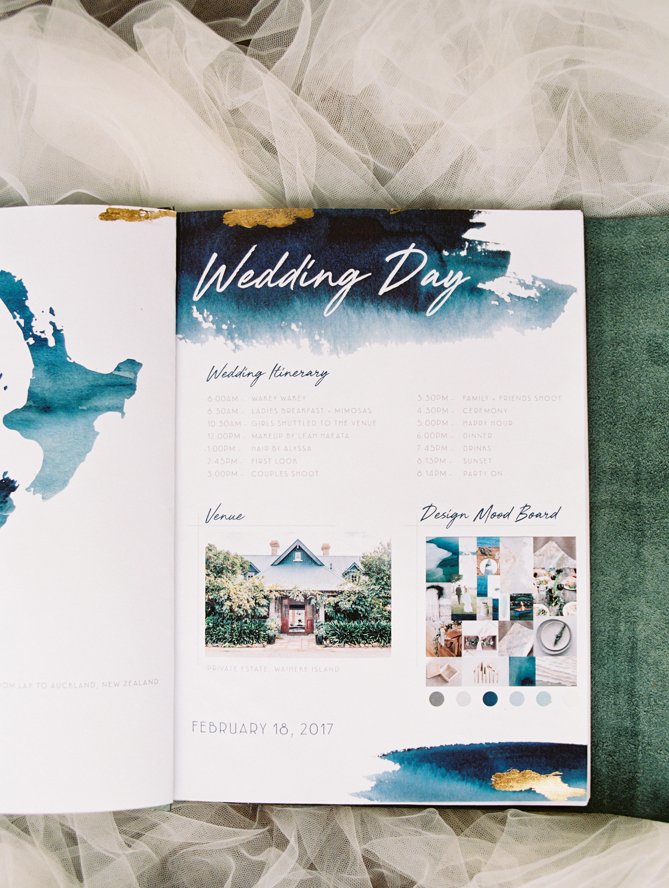wedding day book