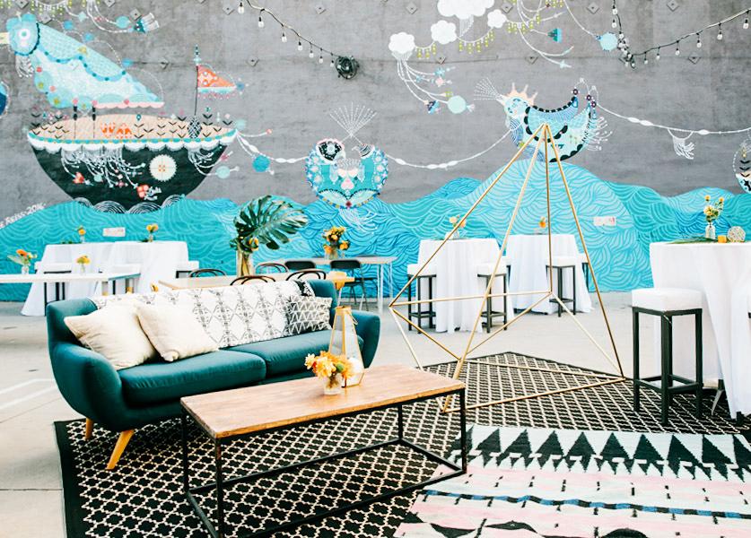 lounge area event space