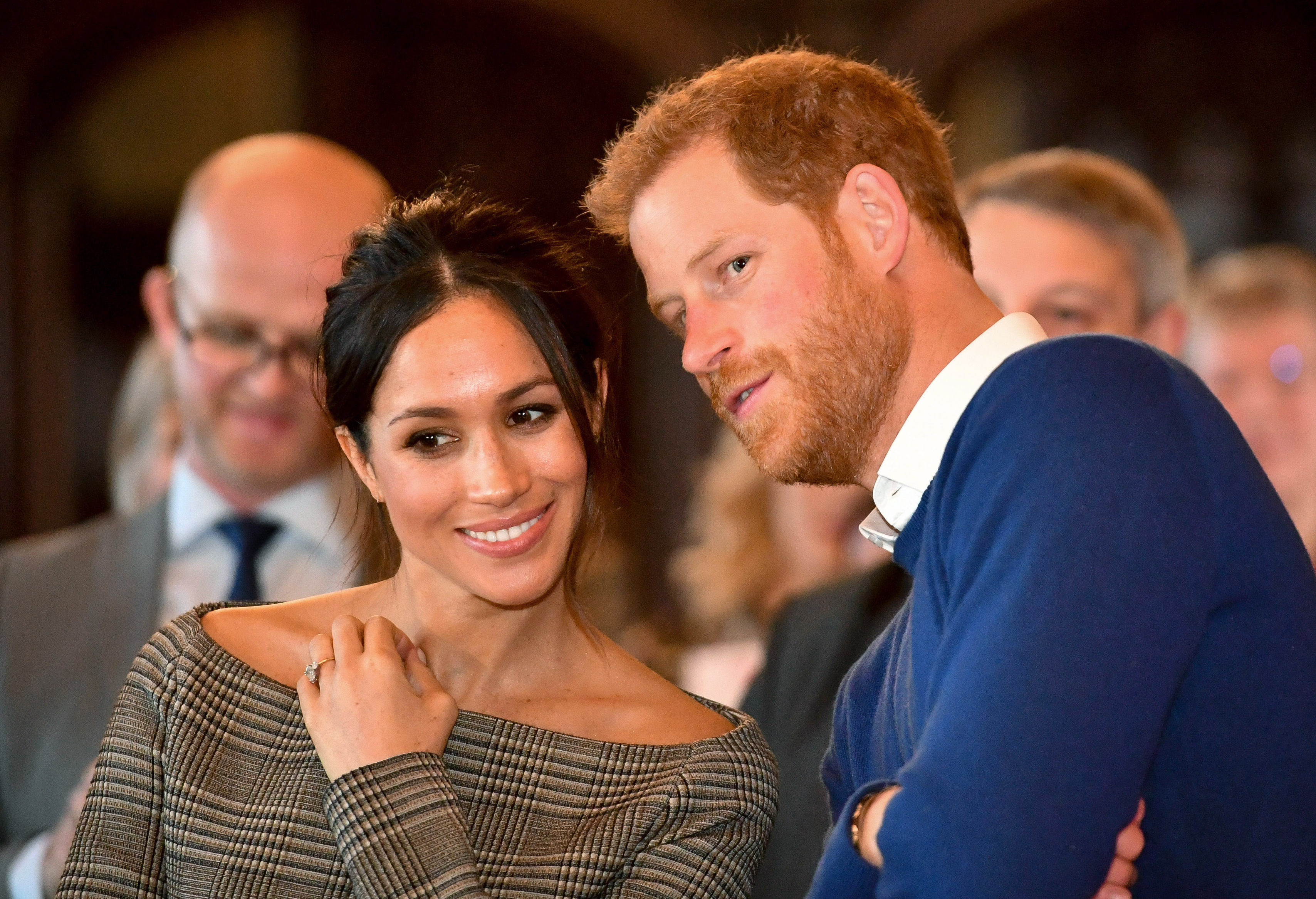 Meghan Markle and Prince Harry in Wales