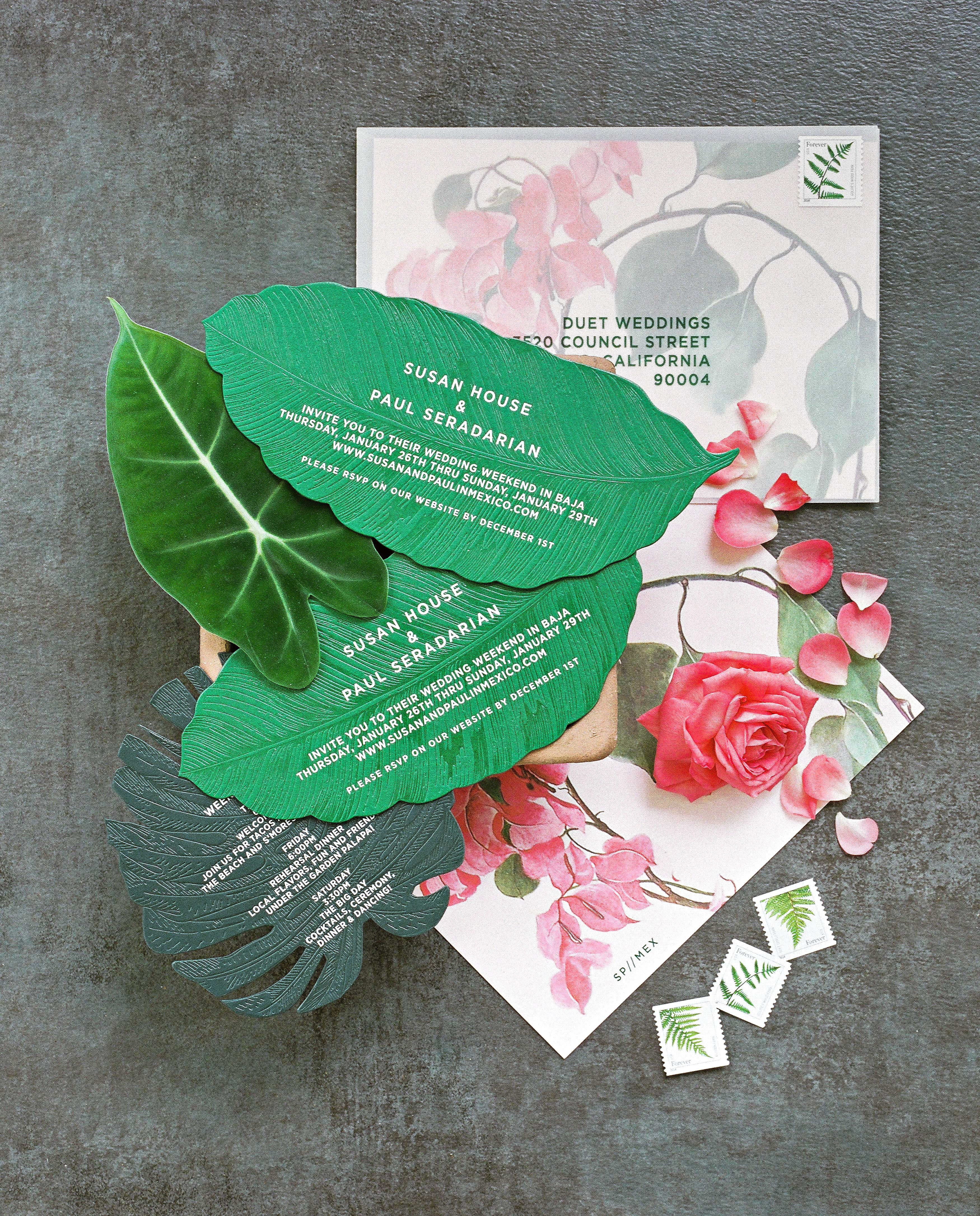 Tropical Invitations