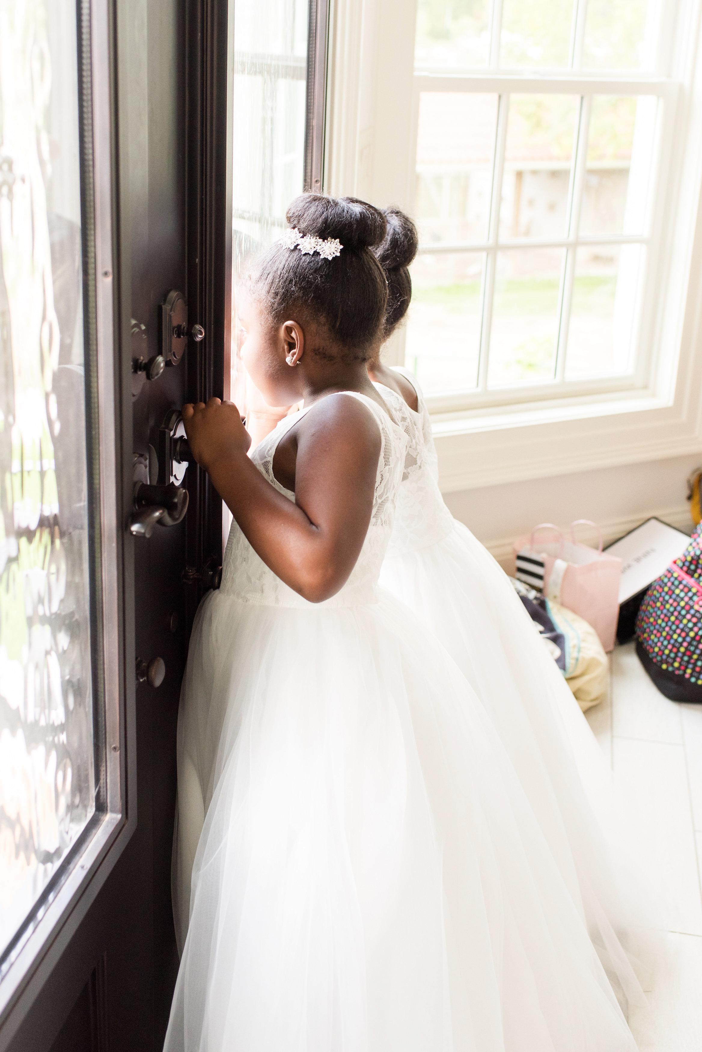 kenisha wendall wedding flower girls