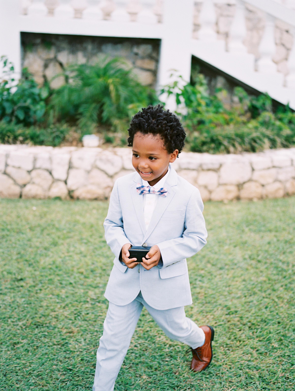 porsha terry wedding jamaica ring bearer