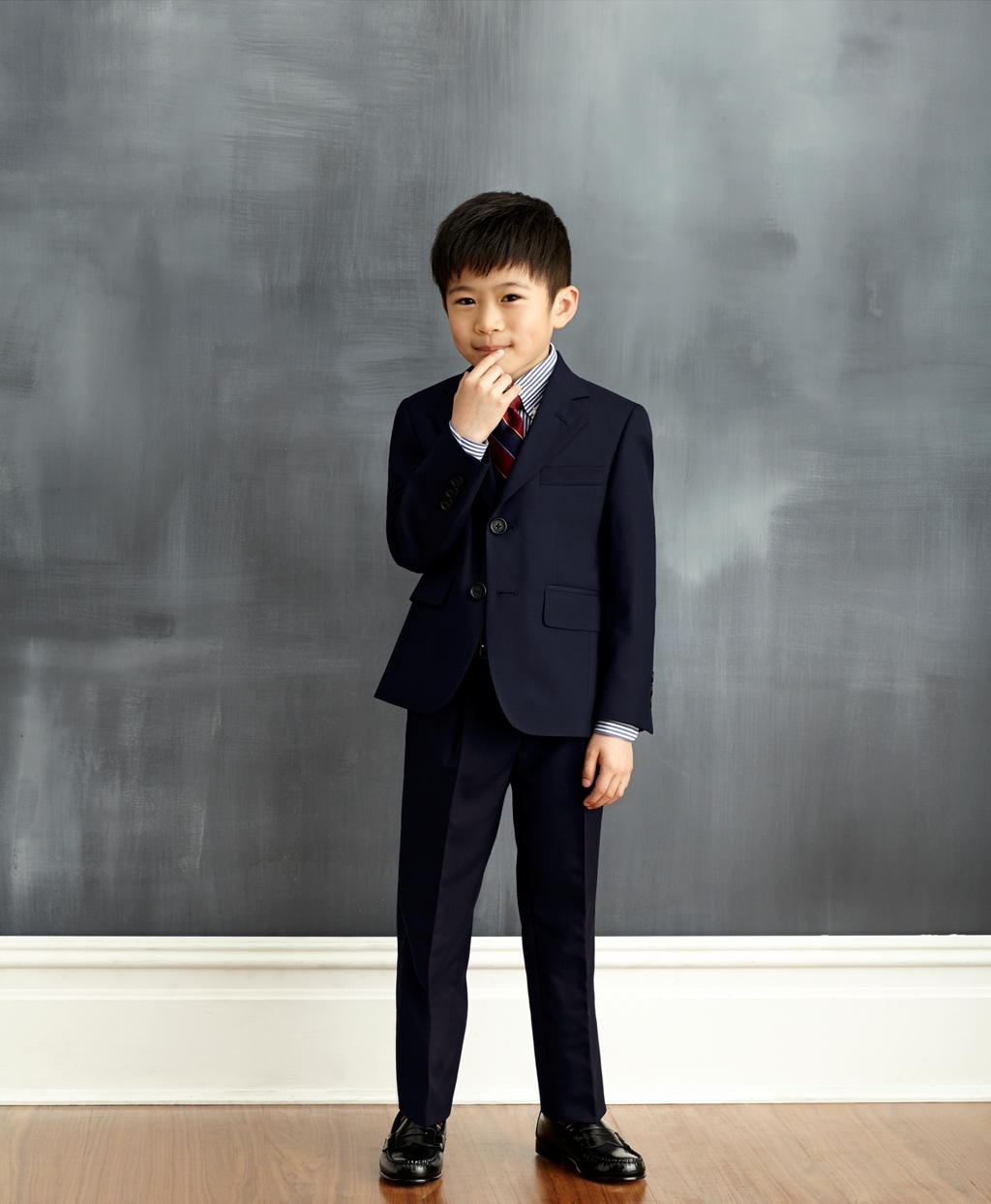 """Two-Button """"BrooksEase"""" Junior Jacket"""