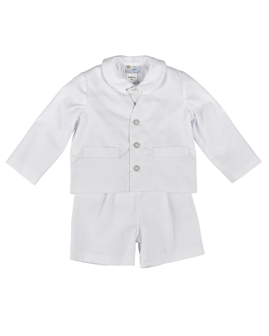 Eton Fine-Wale Pique Suit