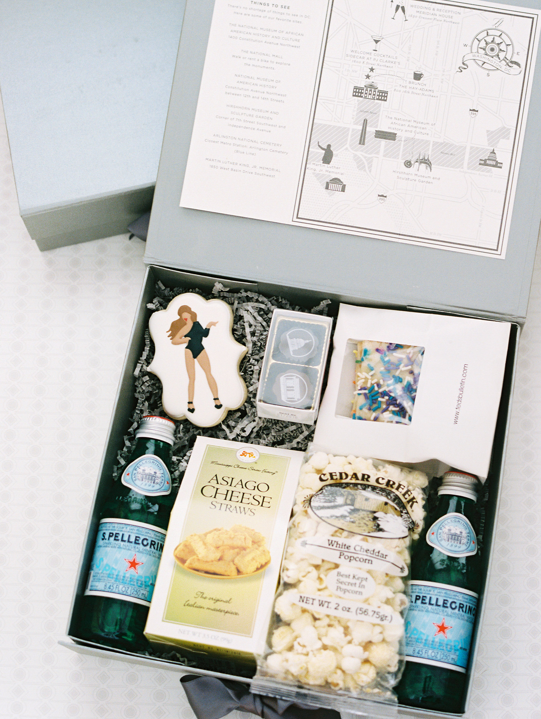 jermaine scott wedding dc welcome box