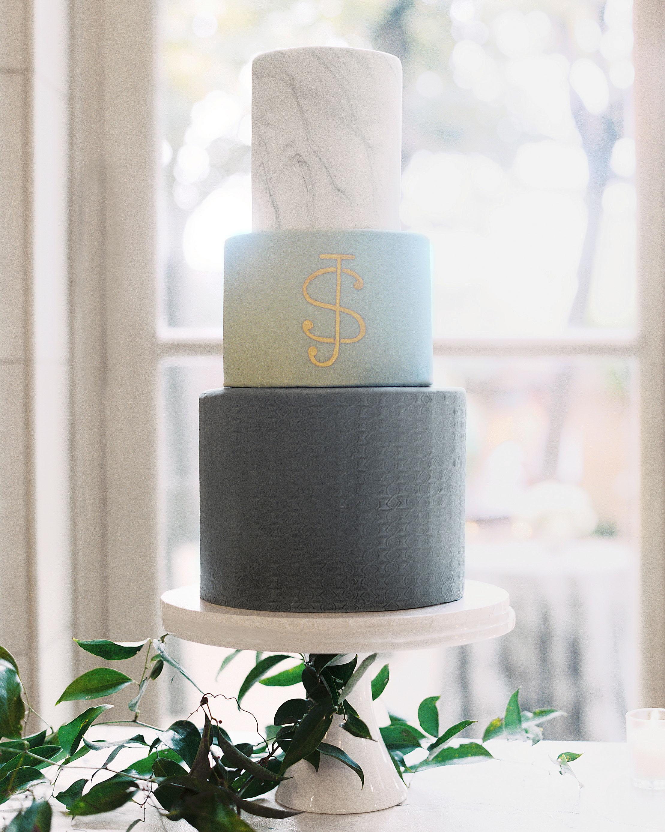 jermaine scott wedding dc bourbon monogram cake