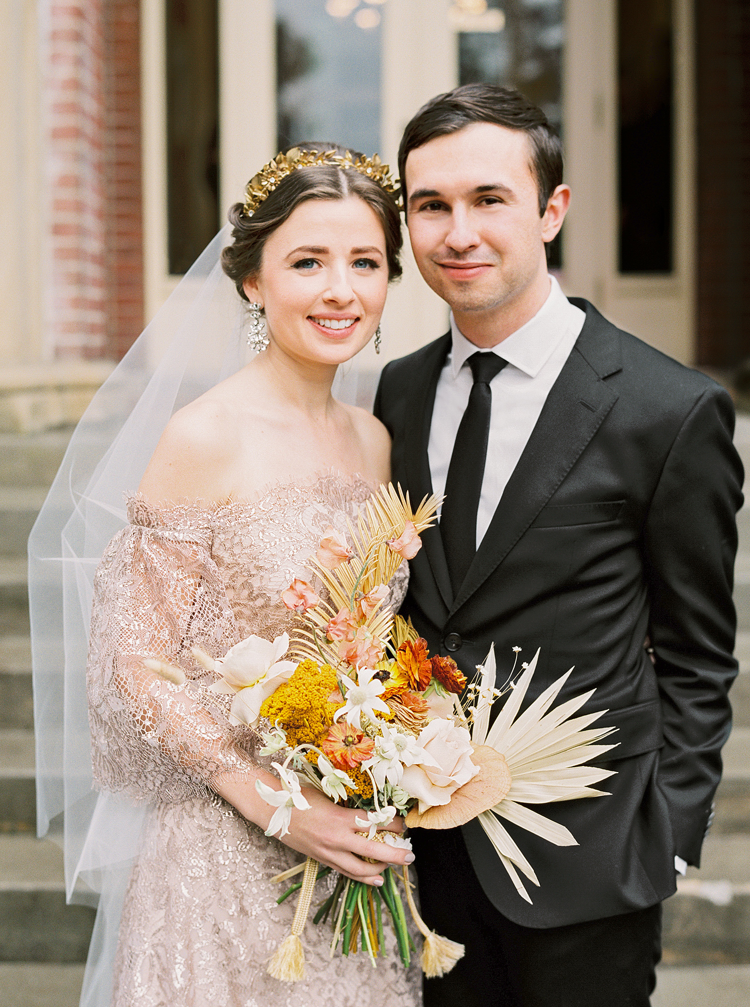 This Couple Planned a Bold, Stylish Wedding in the Pacific Northwest