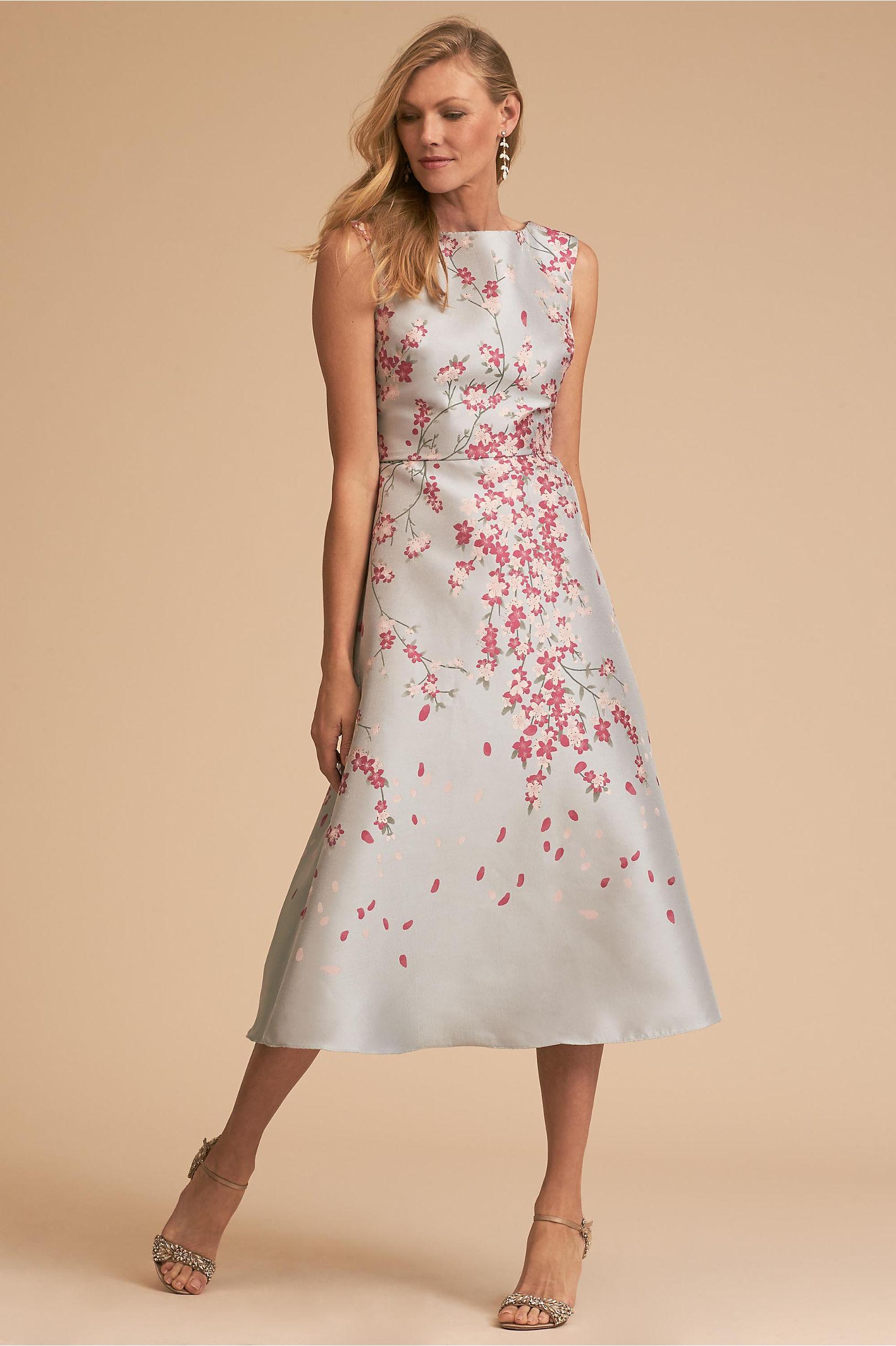"BLDHN ""Agie"" Floral Mother of the Bride Dress"