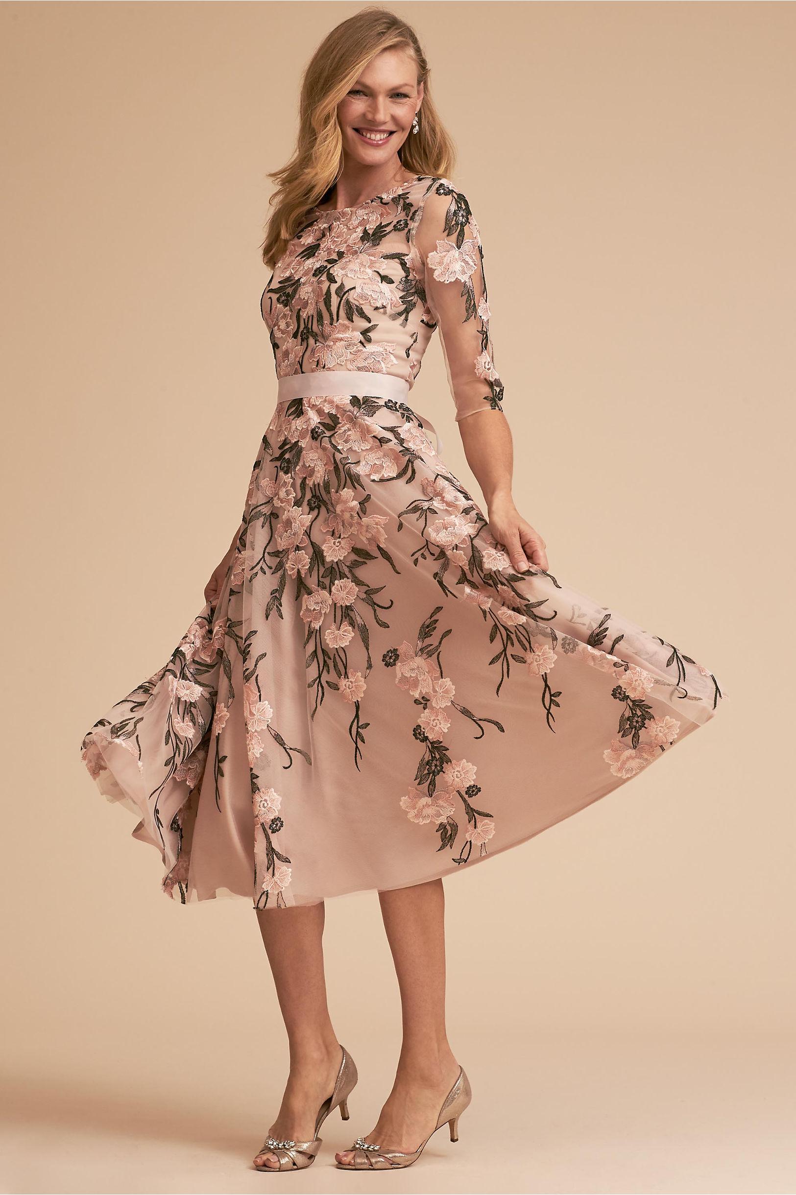 """BHLDN """"Linden"""" Floral Mother of the Bride Dress"""