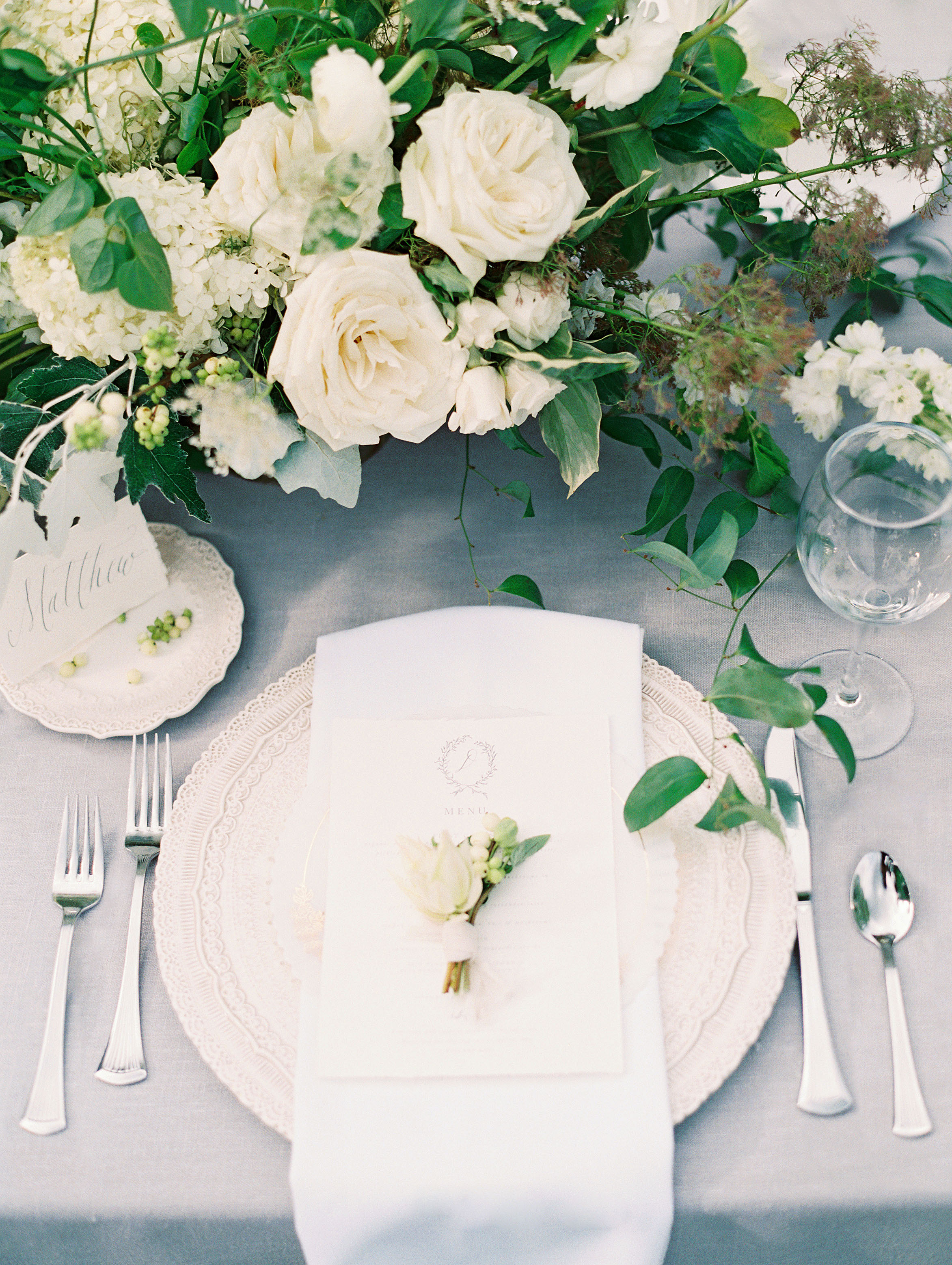 miya matthew wedding place setting