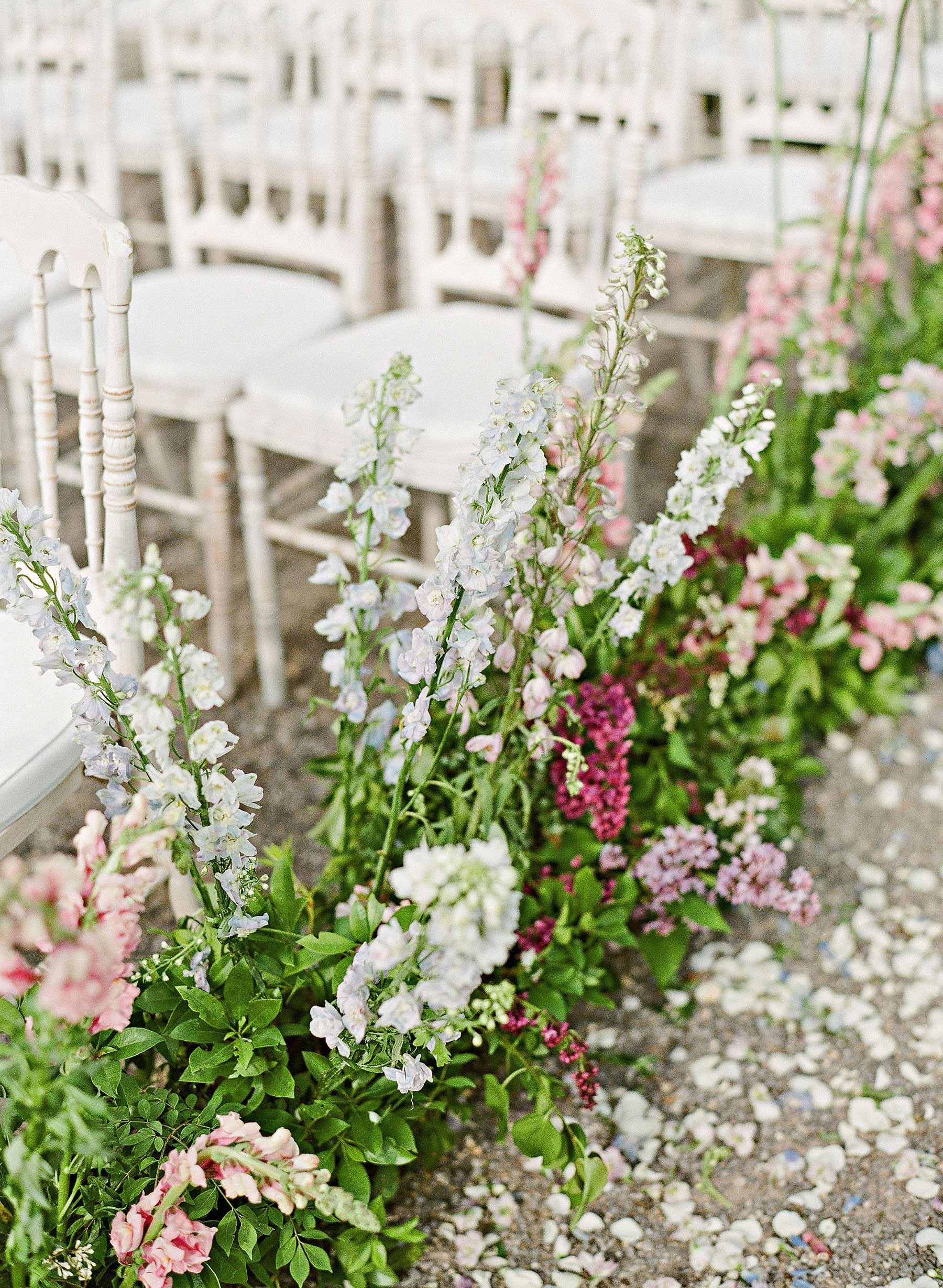 flowers aisle