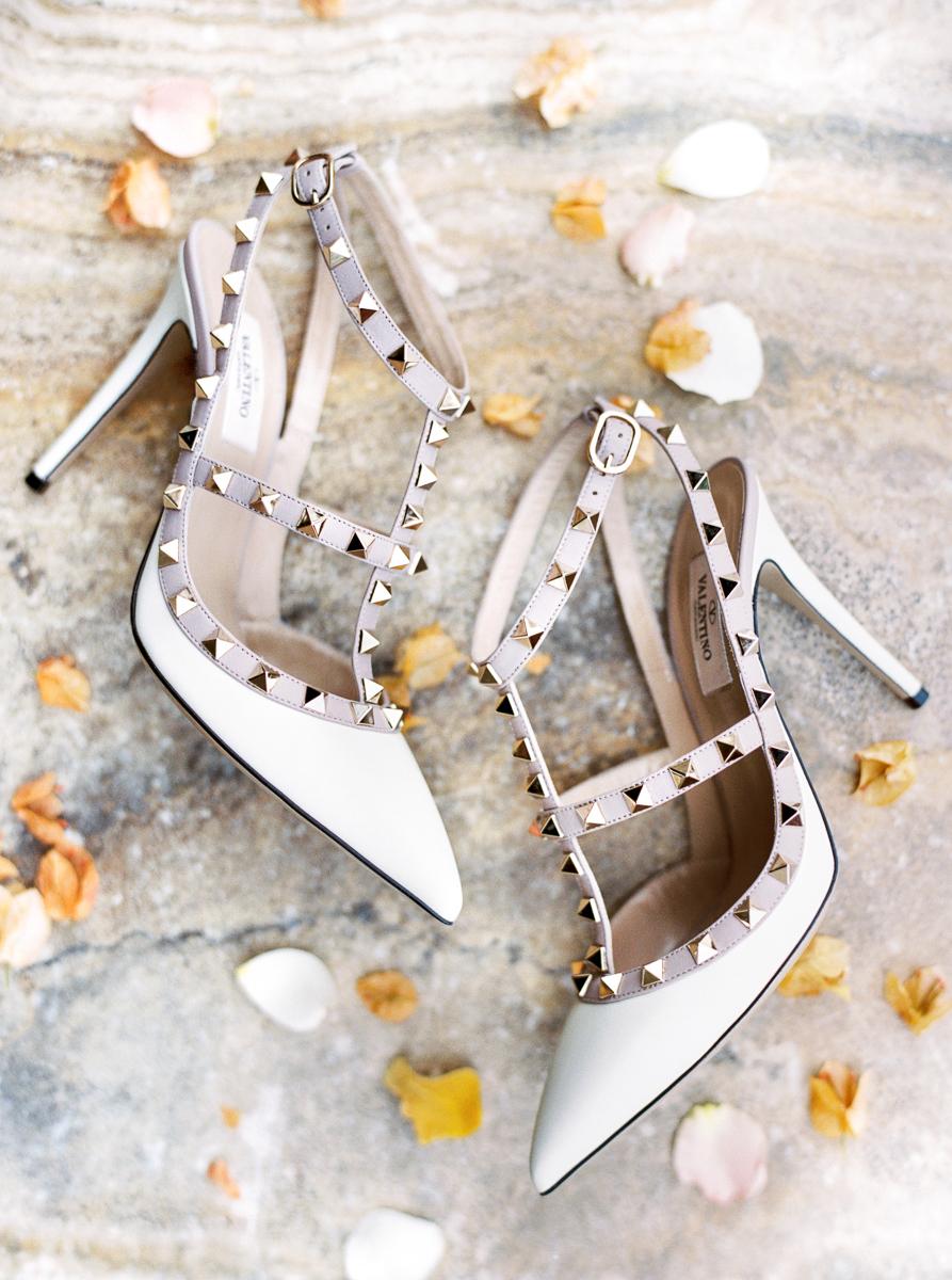 charla jesse wedding brides shoes