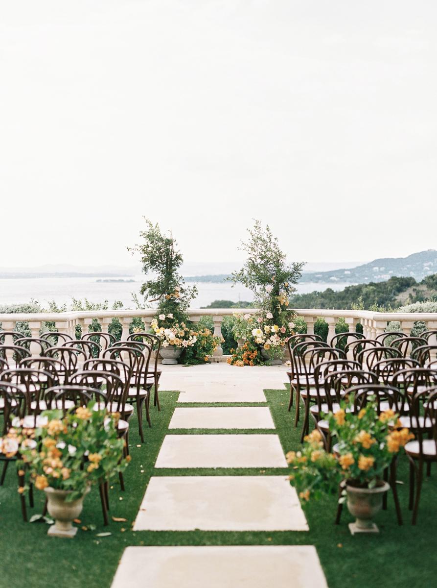 charla jesse wedding ceremony outdoor site